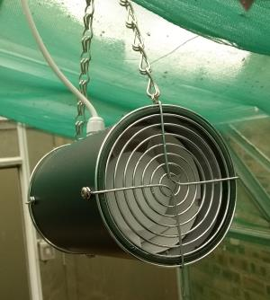 "Simply Control 4"" Circulation Fan NEW Metallic Green Colour as Standard"