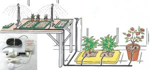 £30 OFF Automated Simply Control Greenhouse Watering Kit